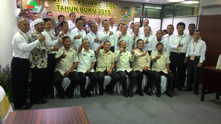 Rapat Anggota Tahunan ( RAT ) Inkoppol Polri ke-47